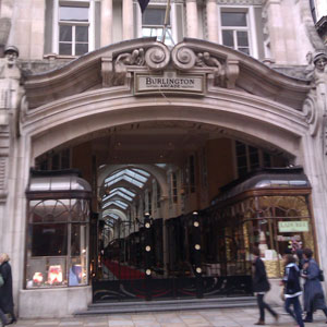 Whistling at the Burlington Arcade
