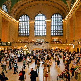 Grand Central's whispering gallery